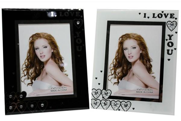 Glas Bilderrahmen für 13x18cm Foto