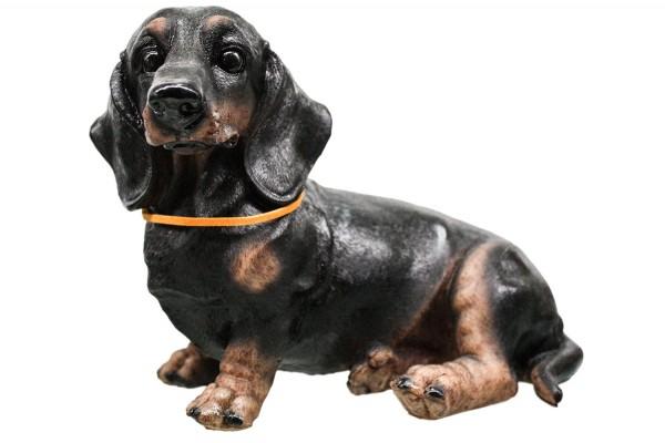 Hund liegend 4 Modell Ca.L23-24cm h15cm