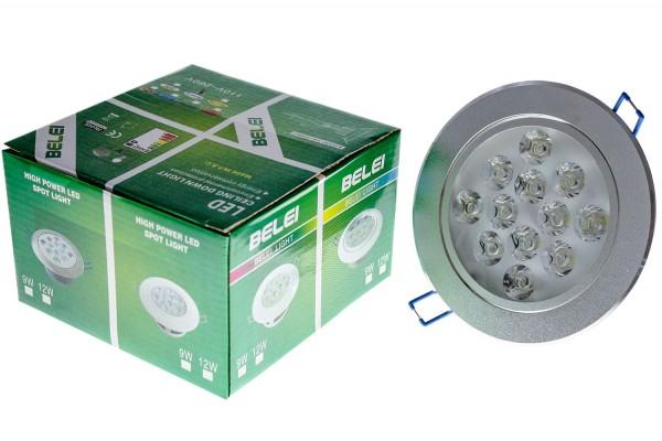 LED Lampe 12x1W 110-260V