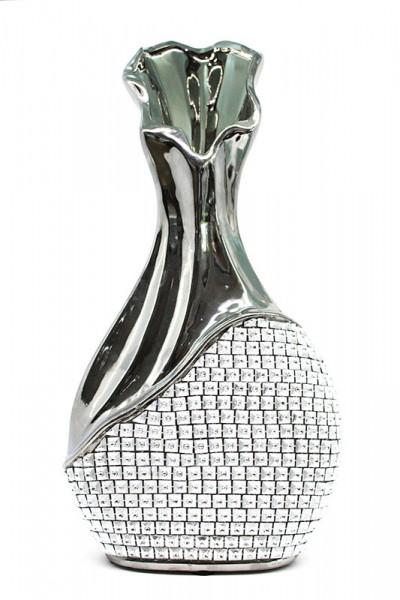 Moderne Vase mit Diamant Schmuck
