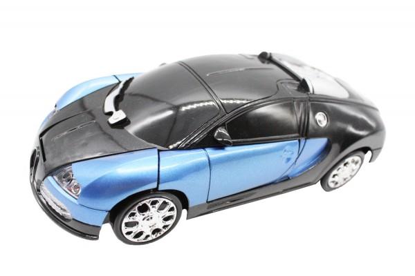 Transformierender Autoroboter dunkel