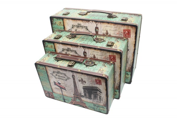 Schatzkiste, Geschenkbox, Schatztruhe 3er Set